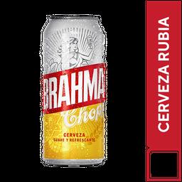 Lata de cerveza  Brahma