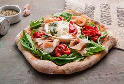 Del Sur - Pizza Puglia con Cerveza Peroni