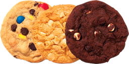 Cookies Doble Chocolate x 3