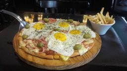 Pizza Finisterre a Caballo