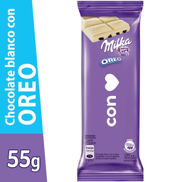 Milka Chocolates Oreo Blanco