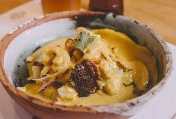 Ceviche Mixto en Ají Amarillo