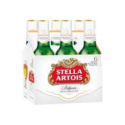 Six Pack Stella Artois 330 mL Cerveza