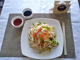 Chop Suey Salteado con Pollo