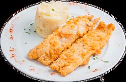 Filet de Merluza Apanado