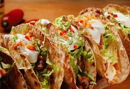 Tacos XL Crispy x 6