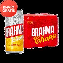 Brahma Chopp Lata 6 Pack