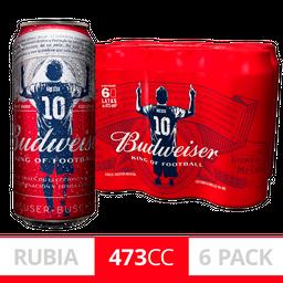 Budweiser Lata 6 Pack