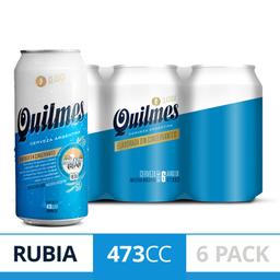 Quilmes Clásica Lata 6 Pack