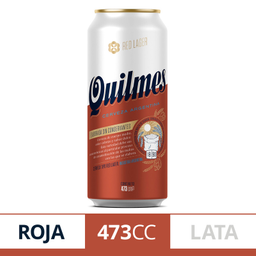 Quilmes Red Lata 473 Cc