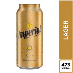 Imperial Lager 473 ml