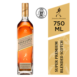 Whisky Johnnie Walker Gold 750 Cc