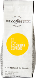 Cafe Colombian Supremo Pack 250 g