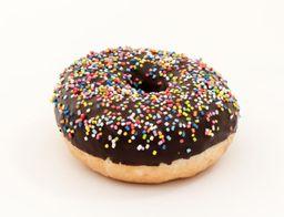 Donut Chocolate Rellena De Dulce De Leche