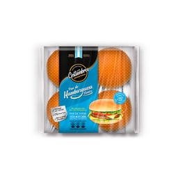 Pan de Hamburguesas X 4