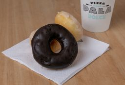 3 Mini Donuts & Bebida