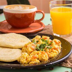 Huevos Revueltos & Café