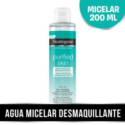 Neutrogena Agua Micelar 7 En 1 Purified Skin 200 Ml