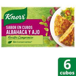Knorr Saborizador Albahaca Y Ajo