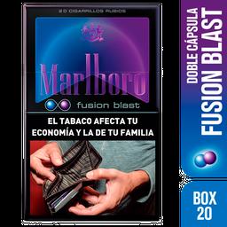Marlboro Cigarrillos Fusion Blast Box 20U