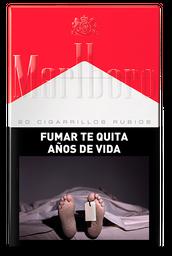 Cigarros Rubios Marlboro Red Box 20 U