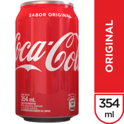Bebida Gaseosa Coca Cola Sabor Original 354 mL
