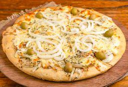Pizza con Cebolla