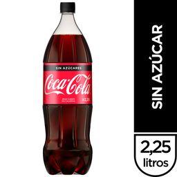 Coca-Cola sin Azúcar 2,25 L
