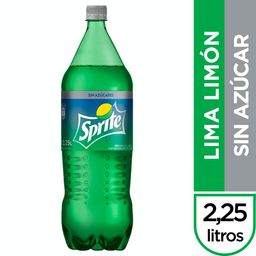 Sprite Lima Limón sin Azúcar 2,25 L