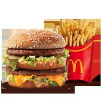 Combo - Big Mac + Papas Grandes