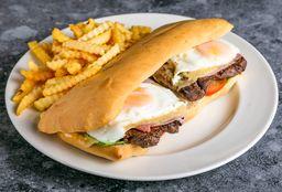 Sándwich de Bife de Chorizo