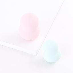 Set Esponjas Para Aplicar Maquillaje: 1 Grande y 1 Mediana