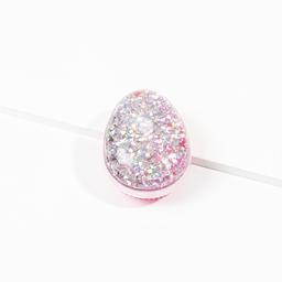Cepillo Ovalado Con Interior de Glitter Holografico