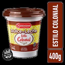 Dulce de Leche La Serenísima Estilo Colonial 400 g