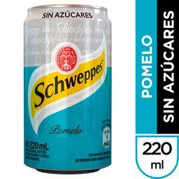 Schweppes Pomelo sin Azúcar 220 ml