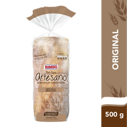 Pan Bimbo Blanco Artesano 500 g
