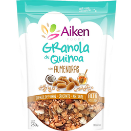 Granola de Quinoa Aiken Con Almendras y Pasas
