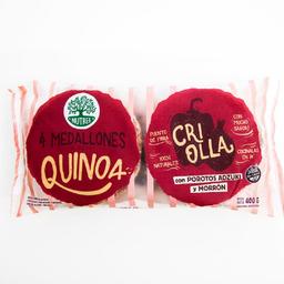 Hamburguesas de Quinoa Nutree Criolla 400 g