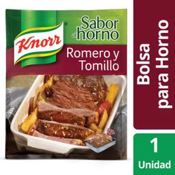 Knorr Saborizador Al Horno Romero y Tomillo