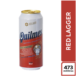 Quilmes Red Lager 473 ml X 6