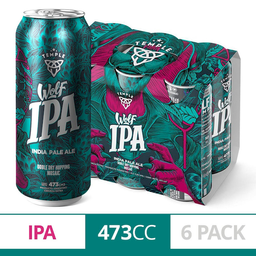 Temple Wolf Ipa 6 Pack