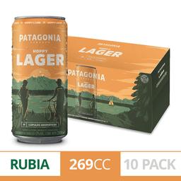Patagonia Hoppy Lager Lata 10 Pack