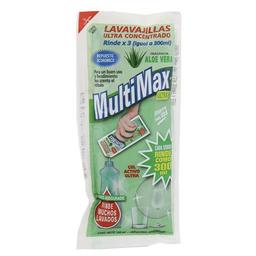 Lavavajillas Multimax Concentrado Aloe Vera Sob
