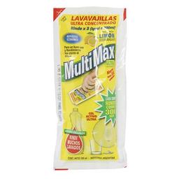 Lavavajillas Multimax Concentrado Limón Sob 100 mL
