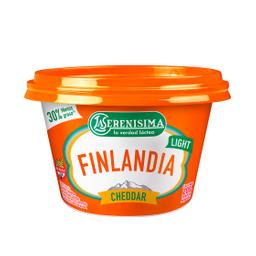Queso Untable La Serenísima Finlandia Light Cheddar 200 Gr