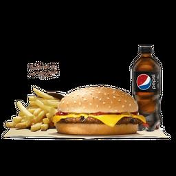 Combo Hamburguesa con Queso