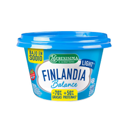 Queso Untable Finlandia Light Balance La Serenisima 200 Gr