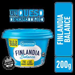 Queso Untable Finlandia Balance Pote 200 g
