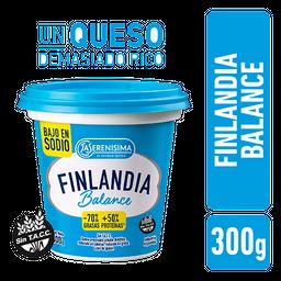 Queso Untable Finlandia Balance Pote 300 g