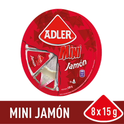 Adler Rueda De Queso Jamon Cja